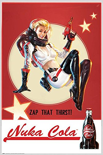 Poster Fallout 4 Nuka Cola - Zap That Thirst! (61cm x 91,5cm)