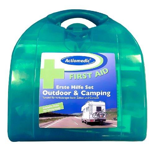 """Preisvergleich Produktbild Verbandskasten für Camping,  """"Medibill"""". Erste Hilfe für Camping,  Wohnwagen und Caravan."""