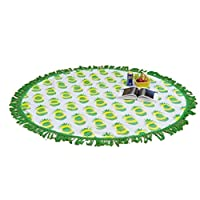"""Caratteristica: Materiale: Poliestere  Che cosa rende un grande arazzo, tovaglia, spiaggia coprire, Dorm, copertura divano o tenda della finestra altro  Ai fini per la casa  Diametro: 150cm/59.0"""" Intricato design  Contenuto della confezione:..."""