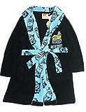 Bademantel Minions für Jungen in dunkelblau navy Größe 98 104 116 128 Size 3Y (98)
