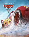 Cars 3 Steelbook 3D Includes 2D Version UK Exclusive Limited Edition Steelbook Blu-ray Region Free
