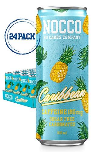 Sabor caribeño Nocco BCAA es el compañero de entrenamiento perfecto de la compañía sueca 'No Carb Company' que ofrece propiedades anticatabólicas elaboradas con BCAA (aminoácidos de cadena ramificada), L-carnitina, té verde con EGCG, cafeína y seis v...