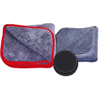 glart 44TPP6 premium polishing kit, 3-piece. Polishing cloth 40 x 40 cm, polishing sponge, drying cloth preiswert