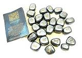 Runen-Set Hämatit das Spiel der Runen 25 Steine mit Beutel