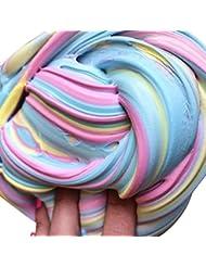 Slime Jouets, enfants Jouets, Fhikf Slime Fluffy Floam Slime parfumée soulager le stress n'borax enfants jouet Sludge jouet
