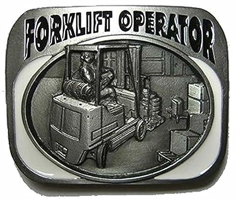 FORKLIFT TRUCK OPERATOR Boucle de Ceinture + présentoir