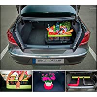 Organizador para el maletero del coche SPACEFIX® (Negro) - original, práctico, elemento de fijación para el espacio de equipaje de su automóvil. ¡Calidad estupenda, 10 años de garantía!
