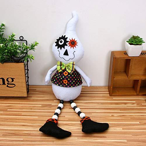 licher,Geist Plüschtier Plüsch Puppe Halloween Party Dekoration gefüllte Plüsch Halloween Spielzeug,D ()