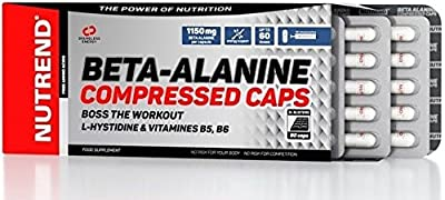 Nutrend Beta-Alanine Compressed Caps 90 Capsules from Nutrend