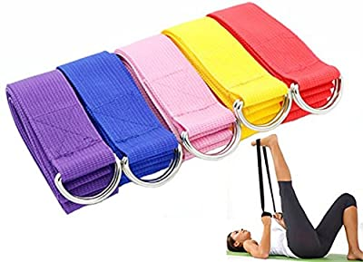 Yogagurt Yoga Gurt 183cm Für Yoga Pilates Fitness Training