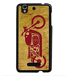 HiFi High Glossy Designer Phone Back Case Cover YU Yureka :: YU Yureka AO5510 ( Super Bike Black Rider Bullet )