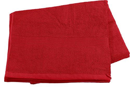 Wilson Gabor Sport-Sauna-Tücher: Saunatuch aus Baumwoll-Frottee 220x90, rot (Handtuch)