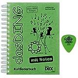 DAS DING mit NOTEN inkl. original Dunlop-Plektrum - das ultimative Kultliederbuch jetzt im A4-format mit praktischer Spiralbuchbindung [Noten/Kultliederbuc/sheet music]