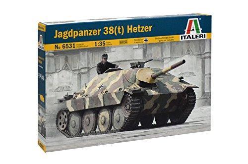 Italeri 510006531 - 1:35 Jagdpanzer 38 (t) HETZER - 1 35 38 Panzer