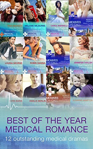book cover of The Best Of The Year - Medical Romance