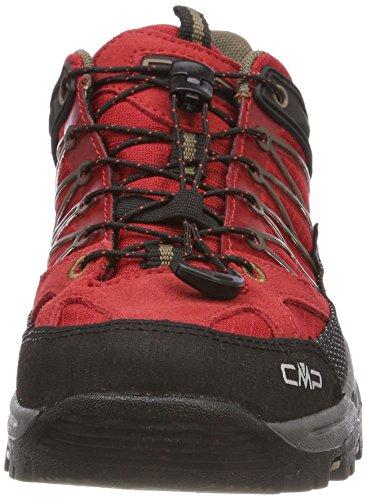 Cmp Rigel, Zapatos De Escalada Unisex - Adult Red (ferrari-tortora)