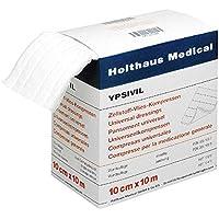 Holthaus Medical YPSIVIL Zellstoff-Vlies-Kompresse, Wundauflage, steril, 10cmx10m, beidseitig preisvergleich bei billige-tabletten.eu