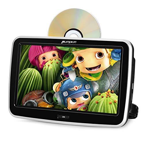 Pumpkin Reproductor DVD Coche con 10.1