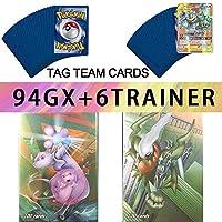 (80EX+20MEGA) 100 بطاقة طاقة بوكيمون EX GX MEGA