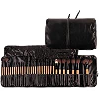 32Pcs Print Logo Makeup Brushes Professional Cosmetic Make Up Brush