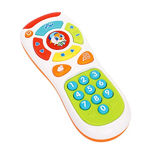 Early Education Toy 6 Month Old Baby Remote Control Musical Toy For Children & Kids Boys and Girls