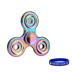 SWAMPLAND Fidget Toys Hand Spinner mit Blau Armband Finger Spielzeug für Kinder und Erwachsene Spielzeug Geschenke, Perfekt zum Töten der Langeweile