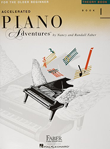 Accelerated Piano Adventures for the Older Beginner - Theory Book 1 Cover Image