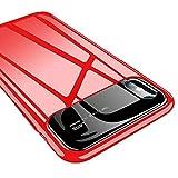 iPhone Handyhülle,Dewanxin Spiegeln Sie Alles Inklusive Handytasche Protective Case Cover (iPhone 6/6s, Rot)