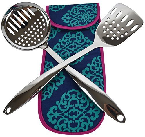 crate-barrel-stainless-steel-utensils-spatula-and-skimmer-set-free-thermal-bag-purple-bag-013-by-cra