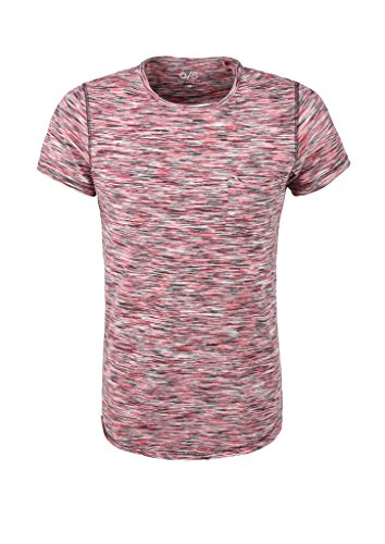 Q/S designed by - s.Oliver Herren T-Shirt Rosa (deep sea coral 43W0)