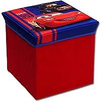 Preisvergleich für Hocker mit Stauraum mit Motivauswahl - Aufbewahrungsbox - Spielzeugkiste - Spielzeugtruhe - Spielzeugbox - Aufbewahrungskiste - Hocker