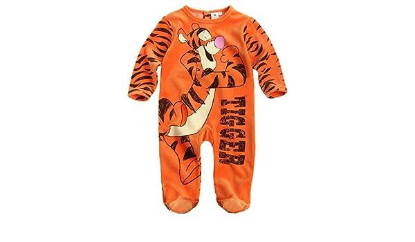 8d2bfa1e42a44 Disney Tigger Baby overall orange (24 month): Amazon.co.uk: Clothing