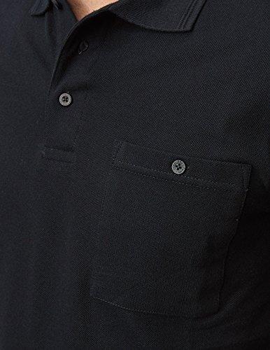 PIONIER WORKWEAR Herren Poloshirt-Piqué kurzarm in marineblau (Art.-Nr. 2711) Schwarz