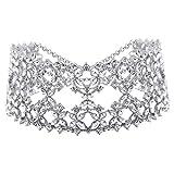 Best Bling collares de diamantes de joyería - QIYUN.Z Mujeres Collar De Diamantes De Imitación De Review