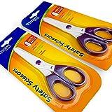 Westcott die Sicherheit der Kinder Schere–Nylon Kunststoff Klinge mit Stumpf Tipp–2Stück–violett