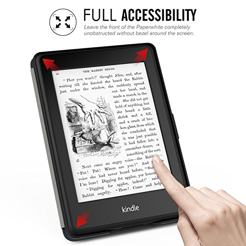 MOCA PU Leather Flip Case For Kindle Paperwhite (Formula)