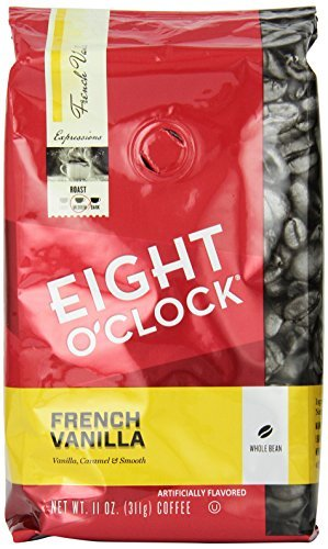 eight-oclock-french-vanilla-whole-bean-coffee-11-ounce-bags-pack-of-6-by-eight-oclock-coffee