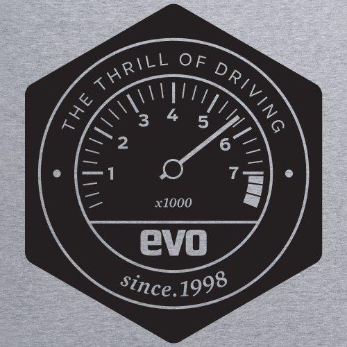 Evo Emblem T-shirt, Uomo Grigio mlange