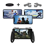 Fortnite PUBG Mobile Controller Sony Gamecontroller, Handy-Spielauslöser, ergonomisches Design, Handgriffhalter für 5,3-6,5 Zoll Android iOS Handys für Battle Royale/Fortnite/PUBG