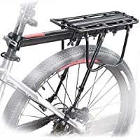 jiele - Portabicicletas Trasero, de Aluminio, para Bicicleta, Equipaje, Bicicleta, tija