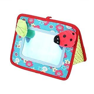 Zerodis Kinder Bodenspiegel Auto Rücksitzspiegel Baby Sicherheitsspiegel Kinderwagen Pedant Spielzeug Kinder frühes pädagogisches Spielzeug Geschenk für Kinder