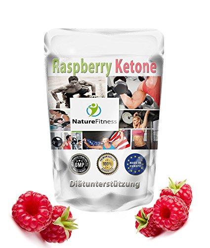 Abnehmen mit Raspberry Ketone Fatburner: 500 Kapseln BigPack Hammerpreis – Premium Qualität aus Grossbritannien I Garantiert Glutenfrei