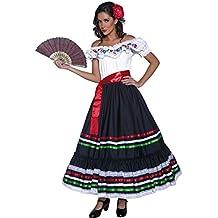 Déguisement Señorita Costume de carnaval Espagnole pour femmes Habits  espagnoles carnaval vêtements western femme Robe de