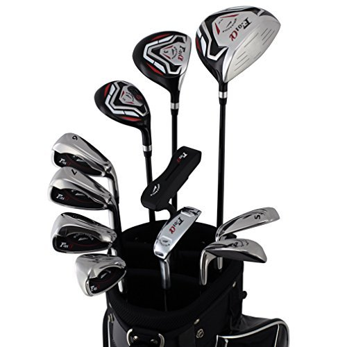 World Eagle f-f-01Alfa Herren Golf Komplett Set mit schwarz Tasche rechts flex-r 14teilig