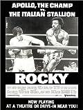 Poster 60 x 80 cm: Rocky von Everett Collection - Hochwertiger Kunstdruck, Kunstposter