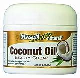 Mason Natural - crema de belleza aceite de coco - 2 oz.