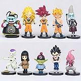 THTB Dragonball Z 10er Figuren Set ca. 6 cm Set 1