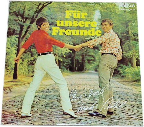 Frank Schöbel/ Chris Doerk: Für unsere Freunde. (VINYL/ SCHALLPLATTE/ LP/)