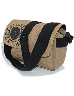 STEFANO Umhängetasche Crinkle Nylon Handtasche Rucksack Shopper Tasche Bauchtasche verschiedene Modelle --präsentiert...