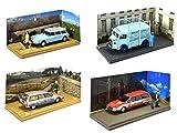 OPO 10 - Batch von 4 Citroen Vans: CX HY ID19 Artisan Nutzfahrzeuge 1/43 (04-07-20-18)